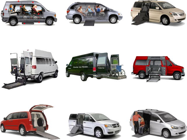 florida wheelchair van rentals