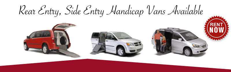 unlimited mileage wheelchair van rentals