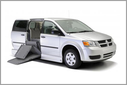 side entry minivan for rent